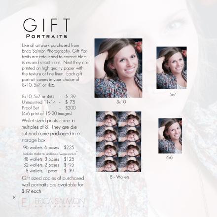 8 Gift Portraitss